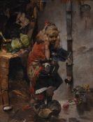 Raphael von Ambros (Austrian 1855-1895), 'Dressing up'