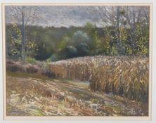 λ Peter Thomas (British contemporary), 'Through The Wheat, 1987'