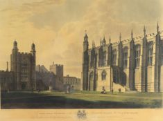 After John Buckler, 'A view of Eton College'