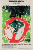 Poster for the Barbican Exhibition of Asger Jorn (Danish 1914-1973)