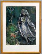 λ After Marc Chagall (1887-1985) 'La sirène 1945'