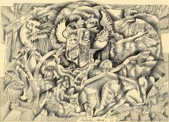 λ Adrian Keith Graham Hill (British 1897-1977), 'Surrealist hands'