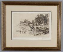 Seymour Haden (British 1818-1910), Five landscapes