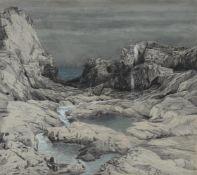 Emilie Mediz-Pelikan (Austrian 1861-1908), 'Rockpools'