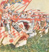 λ Harry Bush (British 1883-1957), 'At the charge'