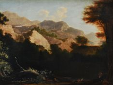 Attributed to Horatio McCulloch (Scottish 1805-1867), 'Mountainous landscape'