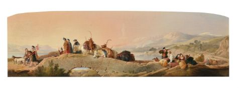 After Sir Edwin Henry Landseer 'Return from the Staghunt'