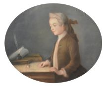After Jean-Baptiste-Siméon Chardin, 'Boy with a Spinning-Top'