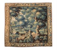 A FRANCO-FLEMISH VERDURE TAPESTRY, EARLY 18TH CENTURY