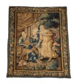 A FRANCO-FLEMISH NARRATIVE TAPESTRY, LATE 17TH CENTURY