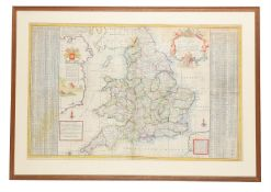 CARTOGRAPHY; MOLL (HERMAN) (1654-1732) 'THE SOUTH PART OF GREAT BRITAIN'