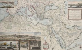 CARTOGRAPHY; MOLL (HERMAN) (1654-1732) 'THE TURKISH EMPIRE IN EUROPE ASIA AND AFRICA'