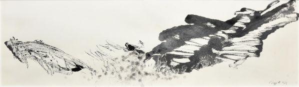 λ Bruce Tippett (British 1933-2017), Untitled (Abstract Landscape), a pair