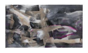 λ Bruce Tippett (British 1933-2017), Untitled (Fushia + Grey)