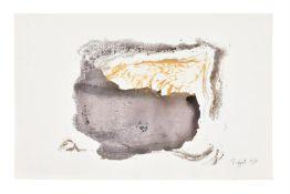λ Bruce Tippett (British 1933-2017), Untitled (Black + Gold)