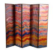 λ Bruce Tippett (British 1933-2017), Folding Screen