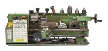 A Warco mini model engineers lathe