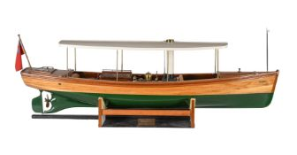 A fine quality model of a Windemere steam powered launch
