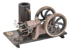 A well engineered model of a 'Colt' under-rod petrol stationary engine