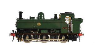 A gauge 1 Aster model of a 0-6-0 Great Western Railway Pannier tank locomotive