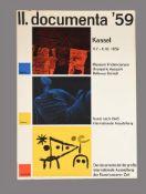 II. Documenta '59. Kassel, Germany, 1959 poster