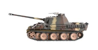 A radio controlled model of a Taigan Panthar tank