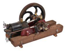 A well engineered model of a 'R & B' petrol horizontal stationary engine