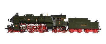 A gauge 1 Aster for Fulgurex model of a Bay S2/6 (2 'B2') 4-4-4 K.Bay. STS.B. tender locomotive