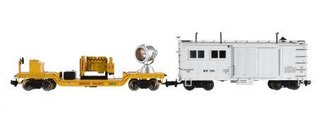 An 'American Trains' G Gauge Railway cars