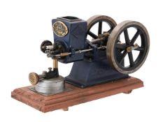 A well engineered model of an Alyn Foundry 'The R.L.E' 40cc Farm Petrol Barn engine