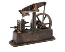 A model of a Stuart Turner live steam beam engine