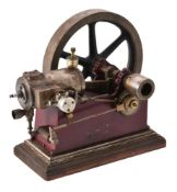 A well engineered model of a horizontal stationary engine