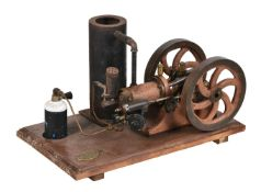 A well engineered model of an Alyn Foundry 'Sphinx' gas fired 'hit-and-miss' stationary engine No 11