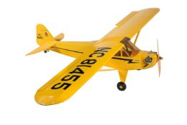 A model of a radio controlled Club aircraft
