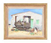 λ Terence Cuneo (1907-1996), 'Came the diesels'