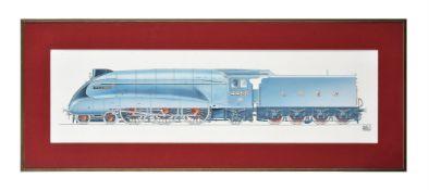 λ Geoffrey Wheeler (1929-1995), LNER 4468 Mallard