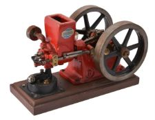 A well engineered model of 'The Associated Line' hit-and-miss stationary engine