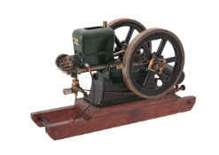 A well engineered model of a 5 n.h.p 'Redwing' petrol stationary engine