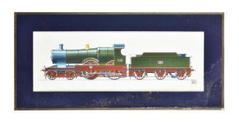 λ Geoffrey Wheeler (1929-1995), City of Truro 3440 locomotive