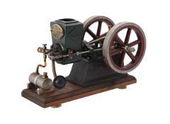 A well engineered model of Alyn Foundry 'RLE' 40cc farm petrol barn engine