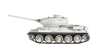 A radio controlled model of a Taigan Russian tank