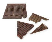 A collection of miscellaneous marine ships grating