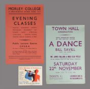A group of three London advertising posters, 1947s-1952