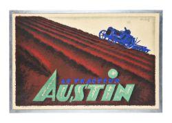 Charles Loupot Le Tracteur Austin