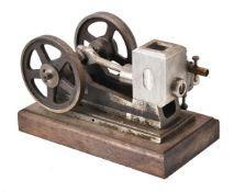 A well engineered model of a horizontal side rod stationary engine