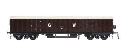 A gauge 1 Great Western Syphon wagon