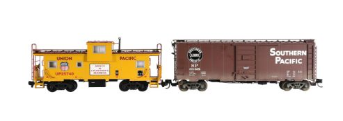 An 'American Trains' G Gauge Union Pacific Extended Vision Caboose