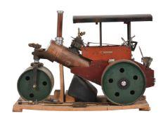 A part built 3 inch scale model of a 3 ton Wallis & Steevens of Basingstoke