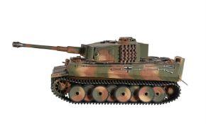 A Radio controlled model of a Torro Panzar tank