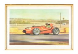 After Roy Nockolds Mike Hawthorn Casablanca 1958